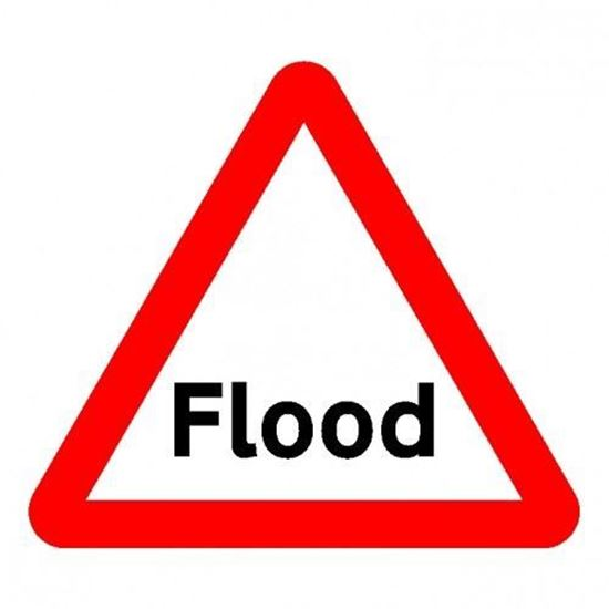 Flood Ford Road Sign