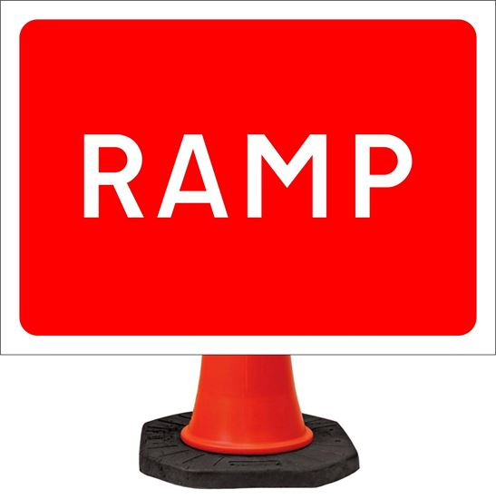 Ramp road signs